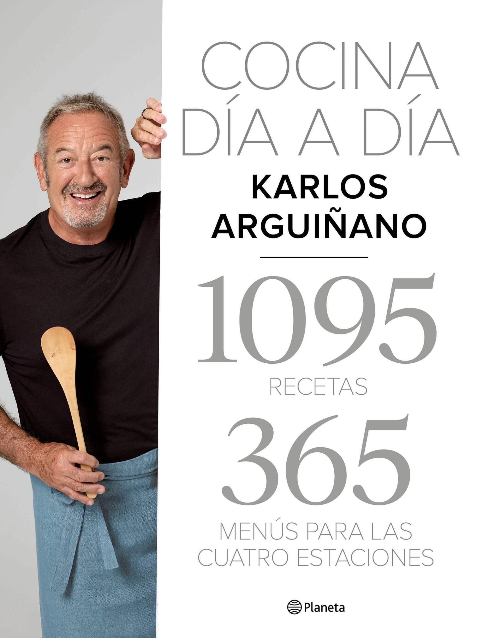 DESCARGAR en PDF el libro Cocina día a día: 1095 Recetas. 365 Menús para las Cuatro Estaciones de Karlos Arguiñano Gratis